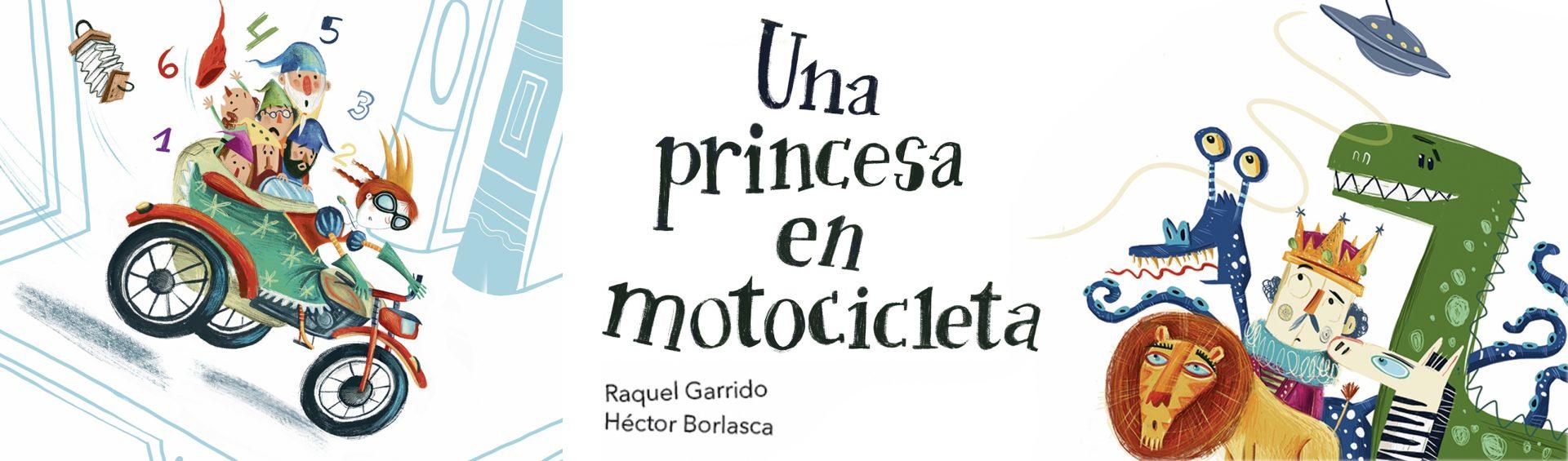 UNA PRINCESA EN MOTOCICLETA